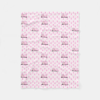 Baby Girl KiniArt Fleece Blanket