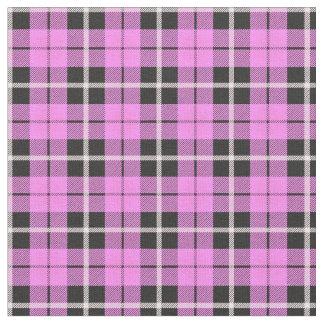Baby girl light pink white/black stripe fabric
