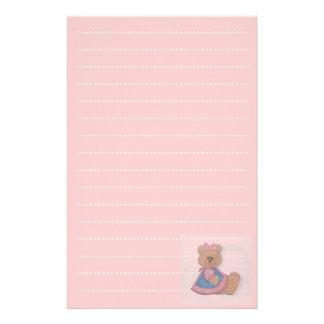 baby girl list planner stationery