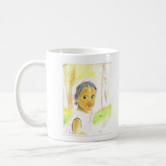 Baby Girl Basic White Mug