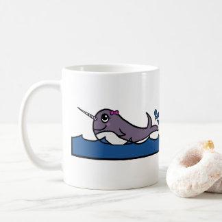 Baby Girl Narwhal Coffee Mug