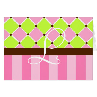 Baby Girl Note Cards