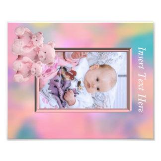 Baby Girl Photo frame insert