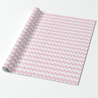 Baby Girl Pink and White Zigzag Chevron Stripes