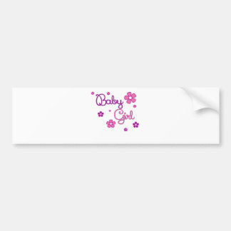 BABY GIRL.png Bumper Sticker
