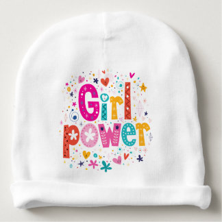 Baby Girl Power - Cute! Baby Beanie