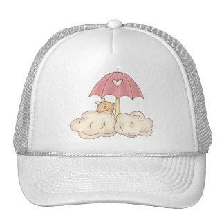 Baby Girl Shower Mesh Hat