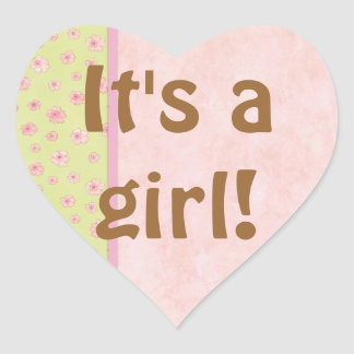 Baby Girl Shower Sticker Envelope Seal Party Favor