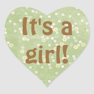 Baby Girl Shower Sticker Envelope Seal Party Favor