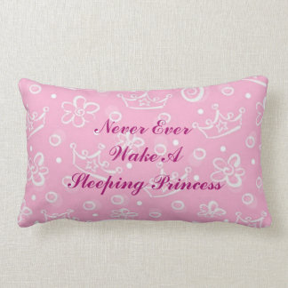Baby Girl Sleeping Princess Pillow