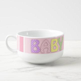 Baby Girl Soup Mug
