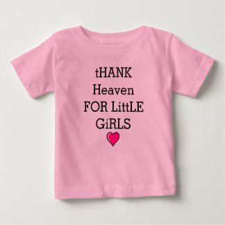 Baby Girl Sweet Outfit Love Heaven Heart Baby T-Shirt