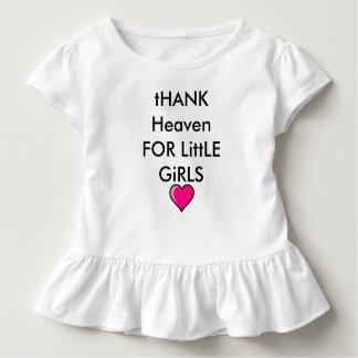 Baby Girl Sweet Outfit Love Heaven Heart Ruffles Toddler T-shirt