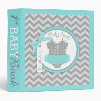 Baby Girl Tutu Memory Book Album Vinyl Binder
