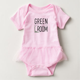 Baby Girl Tutu Outfit Green Room Future Dancer Baby Bodysuit