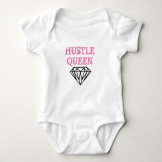 Baby Girls Bodysuit Hustle Queen