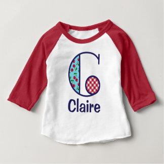 Baby Girls Cherry Shirt Country Monogram Top C