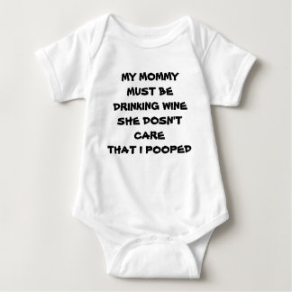 **BABY GIVES ADVICE ON DIAPERING** BABY CLOTHING BABY BODYSUIT