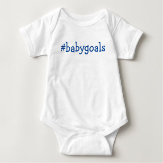 Baby goals shirt top for boy or girl