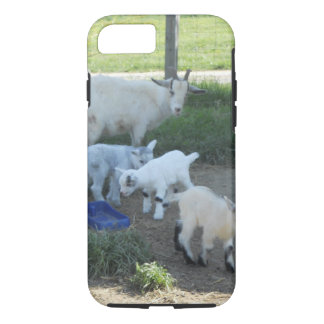 Baby Goat Family iPhone 7 Case