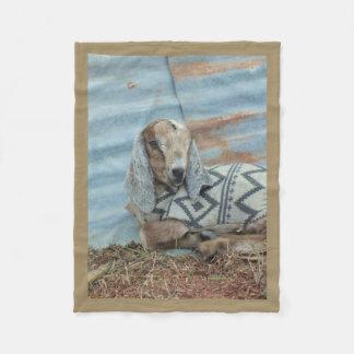 Baby Goat Fleece Blanket