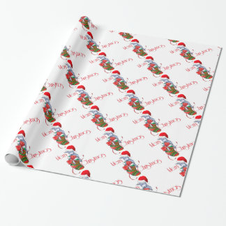 Baby Goat in Stocking Christmas Wrapping Paper