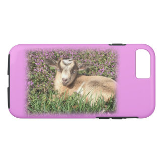 Baby Goat Kid Barnyard Farm Animal Teen Girl iPhone 8/7 Case