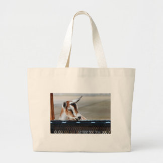 Baby Goat Large Tote Bag