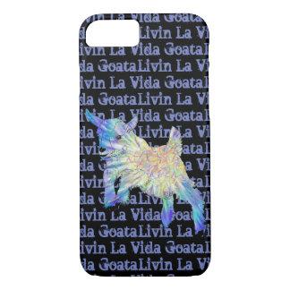 Baby Goat Livin La Vida Goata Funny Animal Art iPhone 8/7 Case