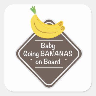 Baby Going Bananas Sticker