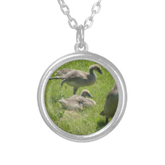 Baby Goose Stretch Necklace