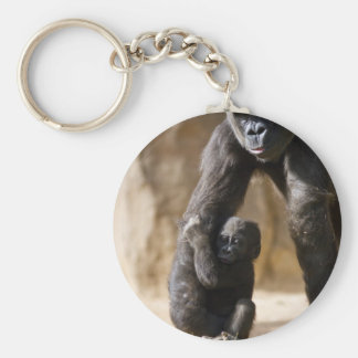 Baby Gorilla Keychain