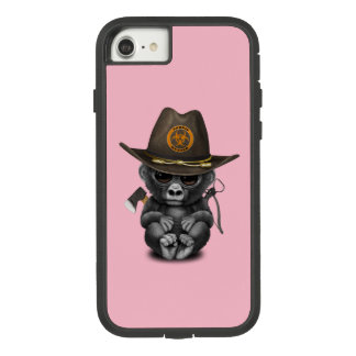 Baby Gorilla Zombie Hunter Case-Mate Tough Extreme iPhone 8/7 Case