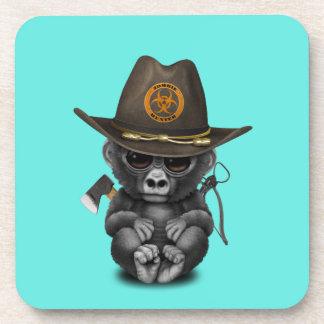 Baby Gorilla Zombie Hunter Coaster