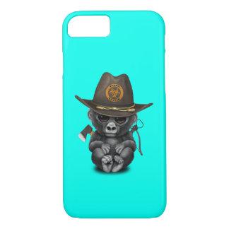 Baby Gorilla Zombie Hunter iPhone 8/7 Case