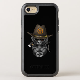 Baby Gorilla Zombie Hunter OtterBox Symmetry iPhone 8/7 Case