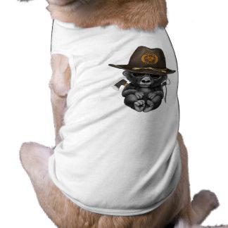 Baby Gorilla Zombie Hunter Shirt
