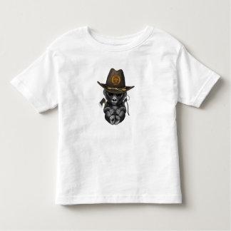 Baby Gorilla Zombie Hunter Toddler T-shirt