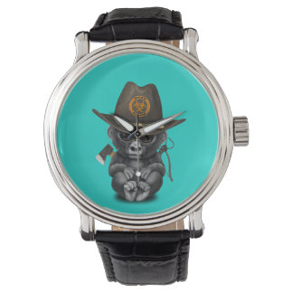 Baby Gorilla Zombie Hunter Watch