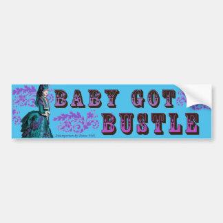 Baby Got Bustle Sticker Bumper Sticker