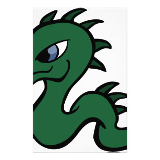 Baby Green Dragon Stationery