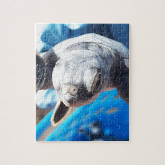 Baby Green Turtle Jigsaw Puzzle
