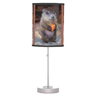 Baby Groundhog Maude Table Lamp