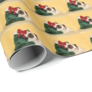 Baby Guinea Pig Stocking Wrapping Paper