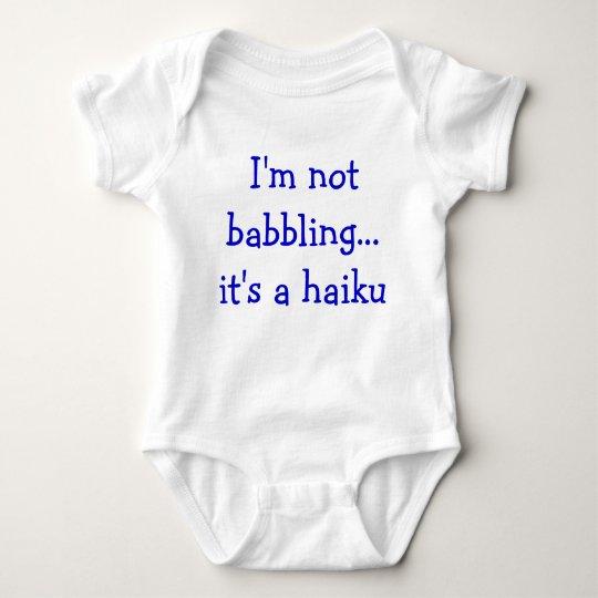 Baby Haiku Baby Bodysuit