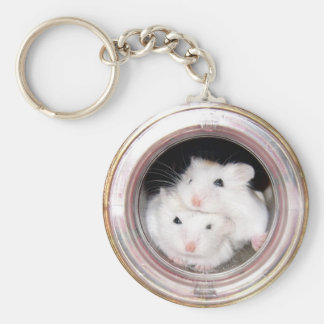 Baby hamsters: Piled Up! Keychain