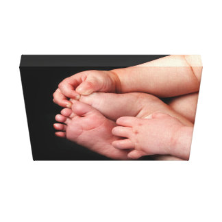 Baby Hands and Feet Canvas Print