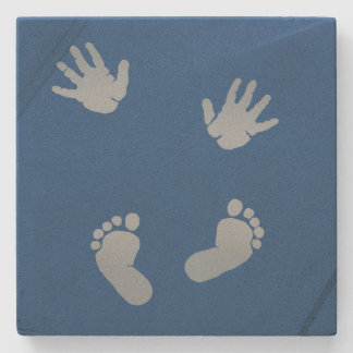 Baby Hands and Feet Coaster