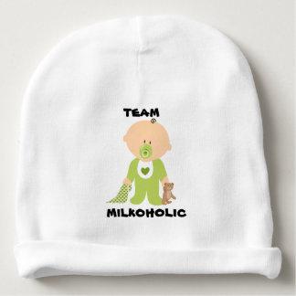 Baby Hat, Team Milkoholic Boy Design Baby Beanie