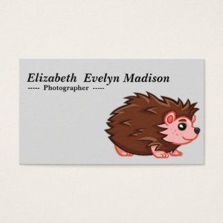baby hedgehog 780 business card